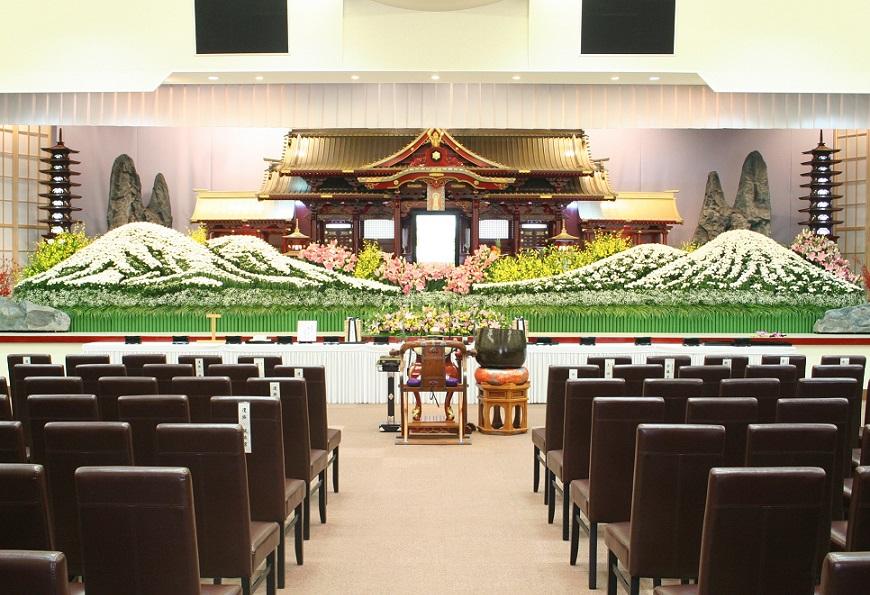 祭壇生花紹介のイメージ