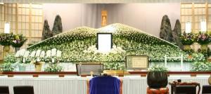 生花祭壇②