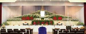 生花祭壇⑤