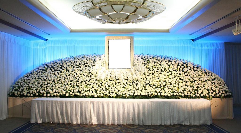 生花祭壇⑪