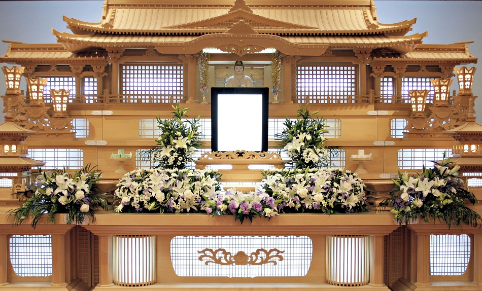祭壇生花②