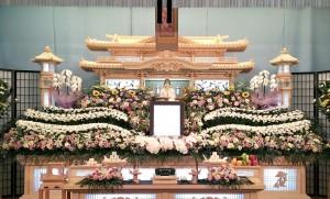 祭壇生花④